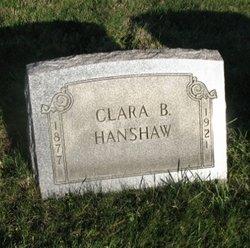 Clara B. Hanshaw