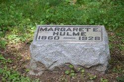 Margaret E Hulme