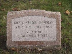 Greta <I>Nelson</I> Hoffman