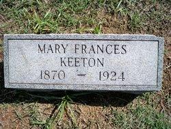 Mary Frances <I>Petty</I> Keeton