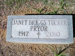 Janet Briggs <I>Tucker</I> Pryor