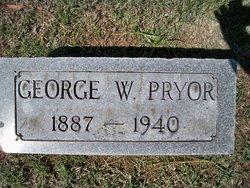 George W Pryor, Sr