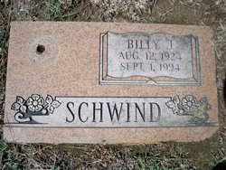 Billy J Schwind