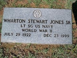 Wharton Stewart Jones, Sr