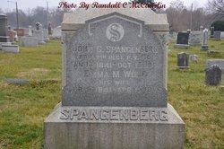Emma M. <I>Wolf</I> Spangenberg