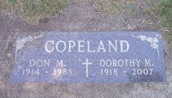 Dorothy M Copeland