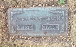 Anna O Peterson