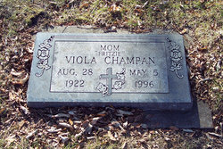"""Viola Marie """"Fritz"""" <I>Thompson</I> Champan"""