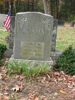 Rachel F Adams