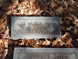Alice Mildred Ingram