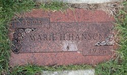Marie H Hanson