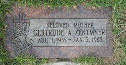 Gertrude A T Zentmyer