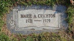 Marie A Crichton