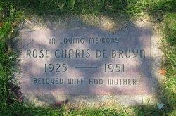 Rose Charis <I>Nicholson</I> DeBruyn