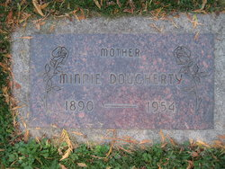 Minnie D <I>Huston</I> Dougherty