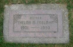 Thelma M <I>Fisher</I> Edelman
