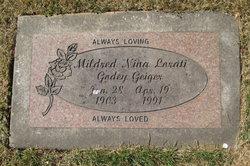 Mildred Nina <I>Lorati</I> Geiger