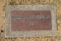William Lester Geohegan, Jr