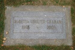 Roberta <I>Coulter</I> Graham