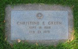 Christine E <I>Nelson</I> Green