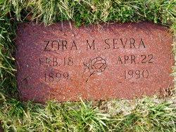 """Zora M. """"Zodie"""" <I>Gideon</I> Sevra"""