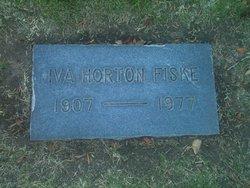 Iva <I>Horton</I> Fiske