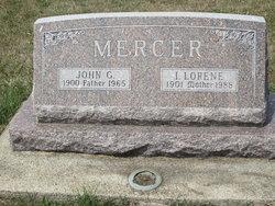 Ida Lorene <I>Hill</I> Mercer