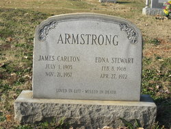 Edna <I>Stewart</I> Armstrong