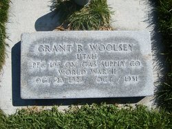 Grant Roland Woolsey