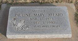 Pauline Mary <I>Dorais</I> Allard