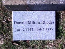 Donald Milton Rhodes