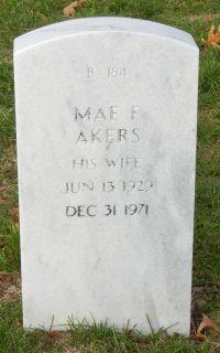 Mae F Akers