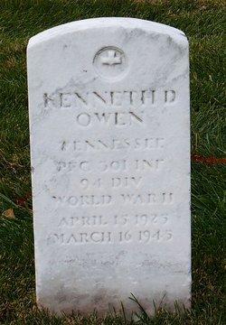 PFC Kenneth D Owen