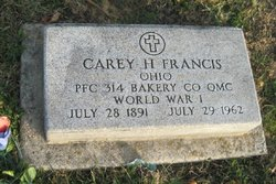 PFC Carey Hall Francis