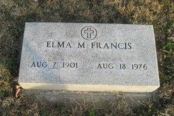 Elma M <I>Bayless</I> Francis