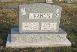 Sgt Robert M Francis
