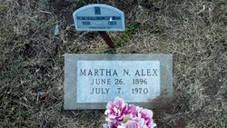 Martha <I>Newman</I> Alex