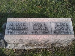 """Andrew Jackson """"Jack"""" Craven"""