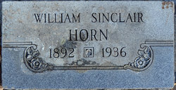 William Sinclair Horn