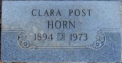 Clara Olga <I>Post</I> Horn
