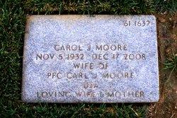 Carol Jean <I>Hatch</I> Moore