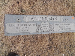 Alta Lucile <I>Rousser</I> Anderson