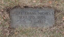 Mabel Ellen <I>Frans</I> Nichols