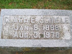 Clara Elizabeth Catherine Schiele