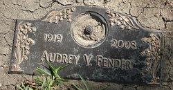 Audrey V Fender