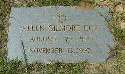 Helen <I>Gilmore</I> Cox