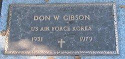 Don W Gibson