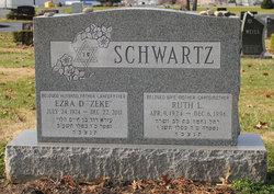 """Ezra D. """"Zeke"""" Schwartz"""