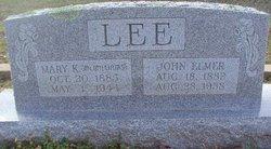 John Elmer Lee