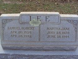 Martha Jane Lee